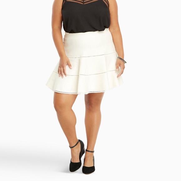 f8f1434c0 torrid Skirts | Flared Sweater Skater Skirt | Poshmark